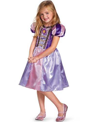 Disguise Disney's Tangled Rapunzel Sparkle Classic Girls Costume