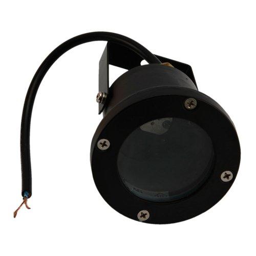12V 3W Low Voltage Underwater Energy Saving Led Light Landscape Fountain Pond Light Lamp Bulb In Black Finish