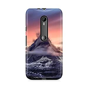Motivatebox-Moto G3 (Third Generation) cover-Coludy Hill Polycarbonate 3D Hard case protective back cover. Premium Quality designer Printed 3D Matte finish hard case back cover.