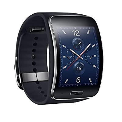 Samsung Gear S SM-R750 S K Curved Super AMOLED Smart Watch White Black