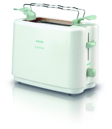 Philips HD4823 Cool Wall Pop-up Toaster with Bun Warmer