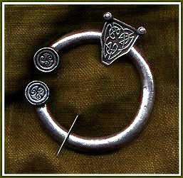 Medium Celtic Pewter Brooch 2