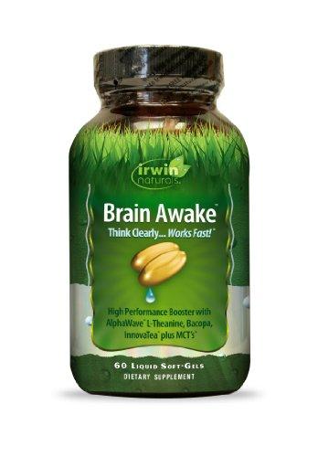 Supplément Irwin Naturals cerveau Awake Diet, 60
