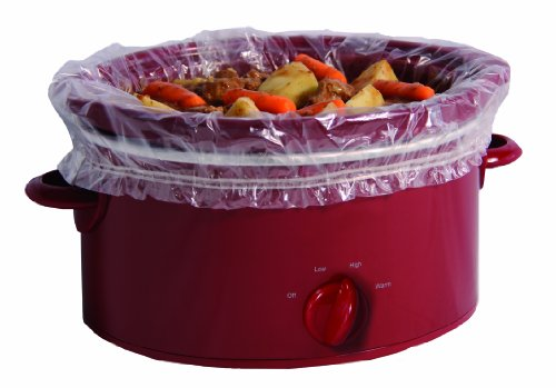 Pansaver Slow Cooker Liners with Sure Fit Band,