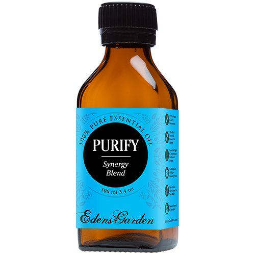Purify Synergy Blend Essential Oil (previously known as Purification) by Edens Garden (Eucalyptus, Grapefruit, Lemon, Lemongrass and Lime)- 100 ml