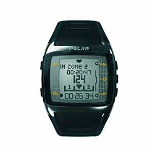 Polar Men's FT60 Heart Rate Monitor and Sports Watch - Black