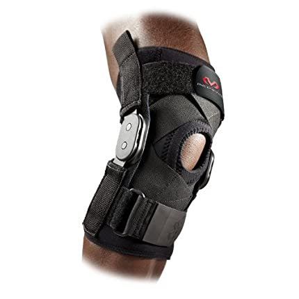 McDavid Hinged Knee Brace with Cross Straps