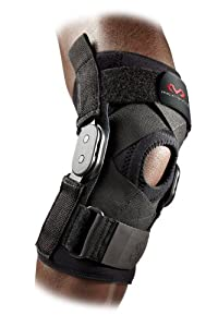 McDavid Hinged Knee Brace with Cross Straps by McDavid