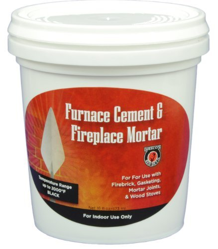 Meeco 39 s red devil 1373 furnace cement and fireplace mortar for Household cement