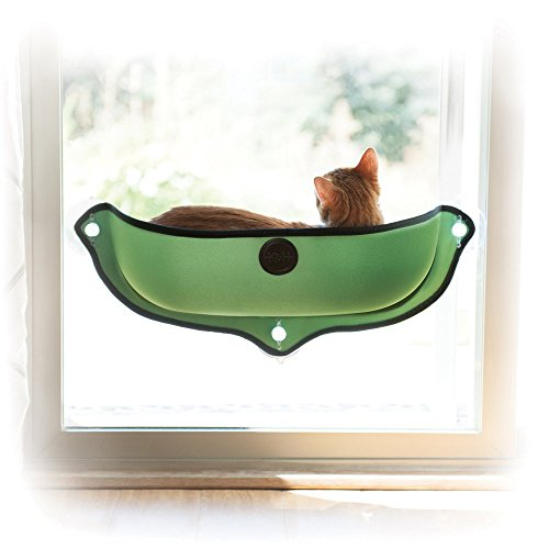 K&H Manufacturing EZ Mount Window Bed Kitty Sill Green 27