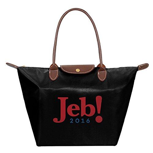 jeb-2016-campaign-logo-foldable-large-tote-bags-shopping-handbags-black