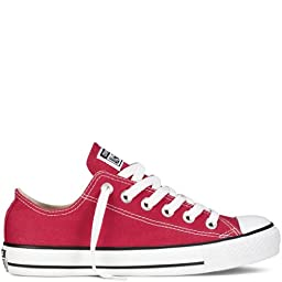 Converse Converse Chuck Taylor All Star Shoes (M9696) Low Top In Red, Size: 11.5 D(M) Us