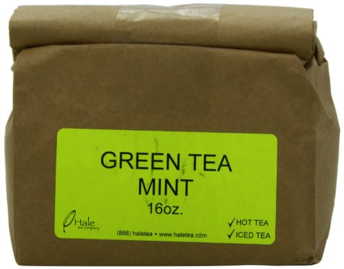 Hale Tea Green Tea, Mint, 16-Ounce