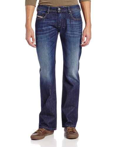 Diesel Men's Zatiny Slim-Micro Bootcut-Leg Jean 0823G from Diesel