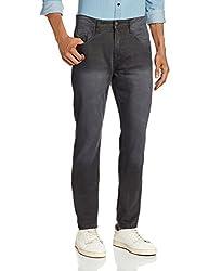 Cherokee Men's Slim Fit Jeans (8907242788715_267695075_34W x 33L_Grey)