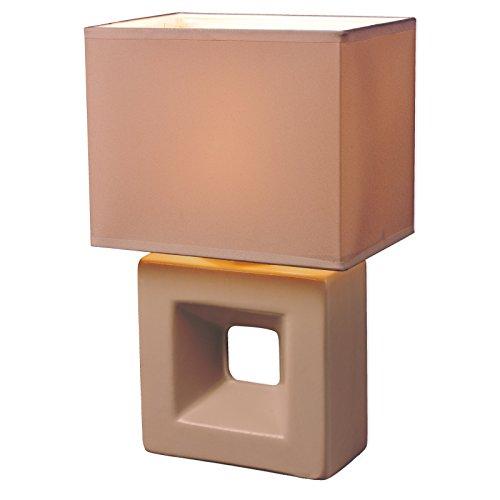 ROLLER-Tischleuchte-ERICA-sand-26-cm-hoch