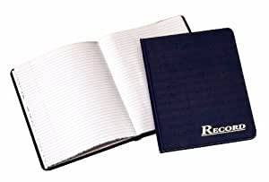 Adams Record Book, 7 x 9.25 Inches, Navy, 80 Pages (ARB8001M)