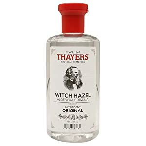 Thayers Original Witch Hazel with Organic Aloe Vera Formula Astringent 12 fl oz (355 ml) (Pack of 2)