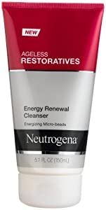 Neutrogena Ageless Restoratives Energy Renewal Cleanser, 5.1 Ounce (Pack of 3)