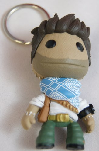 Little Big Planet Sackboy Keyring Uncharted Drake