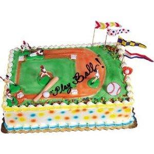 Amazon.com: Oasis Supply Grand Slam Baseball Cake ...