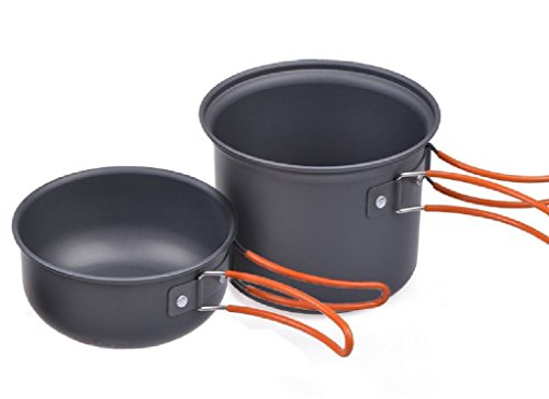 Picnic Camping Hiking Backpacking Pot Pan Cookware