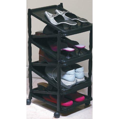 a shoe rack shoe organizer vertical and. Black Bedroom Furniture Sets. Home Design Ideas