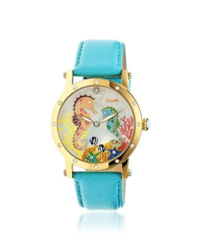 Bertha Women's BR4203 Morgan Turquoise/Multi Leather Watch As You See
