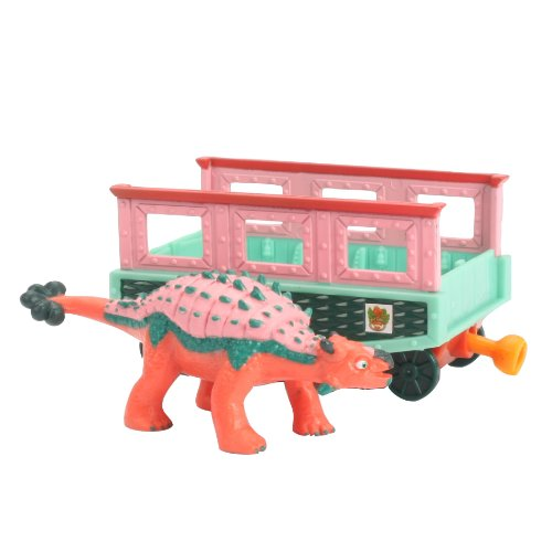 Learning Curve Dinosaur Train Collectible Dinosaur With Train Car: My Friends have Armor: Eugene - 1