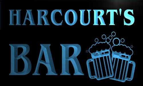 w021965-b-harcourts-nom-accueil-bar-pub-beer-mugs-cheers-neon-sign-biere-enseigne-lumineuse