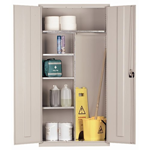 Janitorial Cupboard (Grey)
