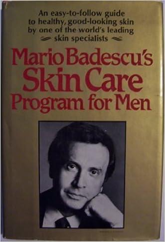Mario Badescu's Skin Care Program for Men