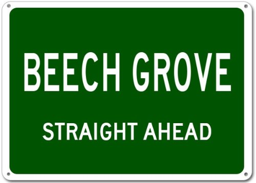 Beech Grove City Sign