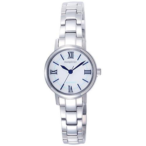 [リコー]RICOH 腕時計 モンペリエ・エミット ソーラー充電式 3気圧防水 ホワイト 699005-02 レディース