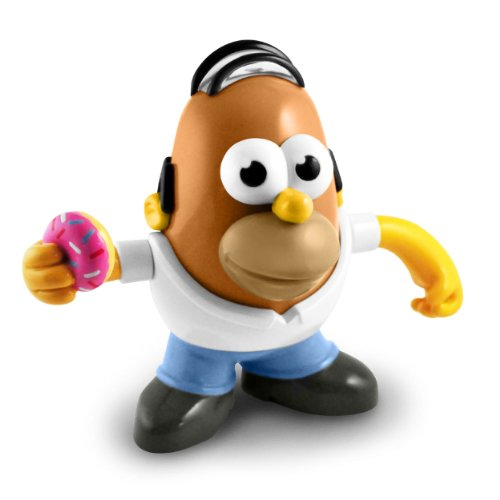 Mr. Potato Head Homer Simpson Figure (Homer Simpson Muscle)