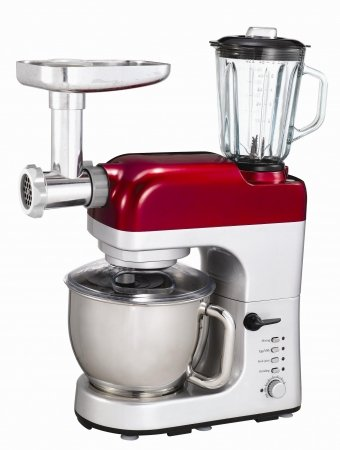 Frigidaire Fd5125 All-In-One Mixer, Meat Grinder, Blender, 220 Volts