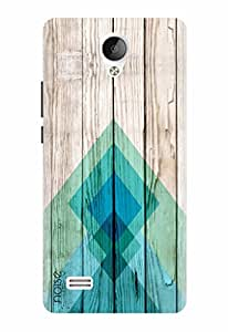 Noise Designer Printed Case / Cover for Vivo Y21 / Patterns & Ethnic / Wood Design