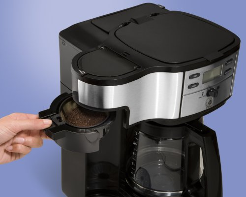 Hamilton Beach Two Way Brewer Single Serve and 12 cup Coffee Maker
