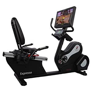 Expresso HD Recumbent Exercise Bike - HDR from Interactive Fitness Holdings LLC