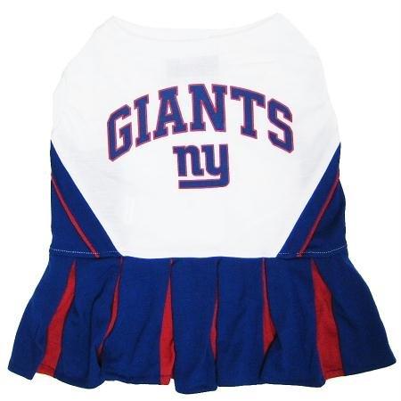 Puppy Dog Cat Costume New York Giants Sports Team Logo Cheer Leading Uniform