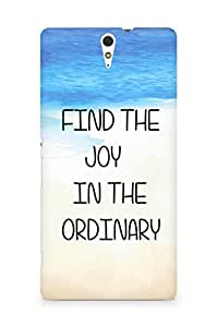 AMEZ find the joy in the ordinary Back Cover For Sony Xperia C5