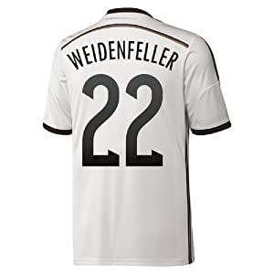 Adidas Weidenfeller #22 Germany Home Jersey World Cup 2014 (XL)