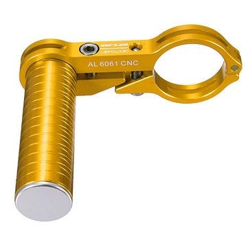 Bicycle-Bike-Handlebar-Aluminium-Extender-Flashlight-Computer-Holder