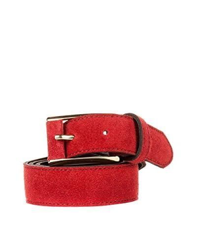 Eva lopez Cinturón Piel  Burdeos 100 cm