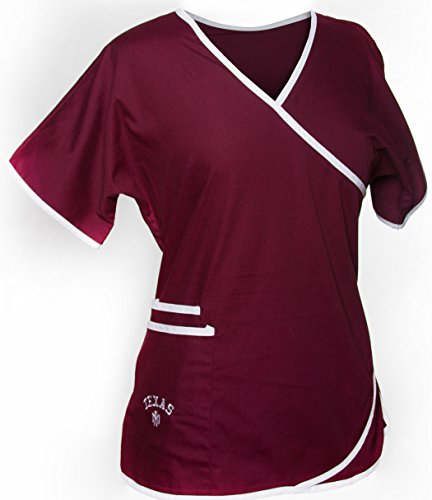 Texas A&M Scrub Top