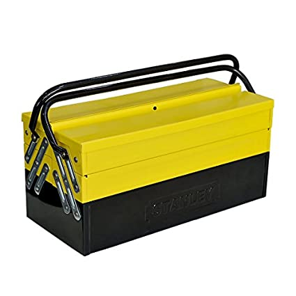 Stanley STST73595-8 5 Tray Cantilever Box with Double Handle