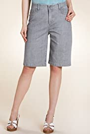 Per Una Roma Cotton Rich Stitched Shorts [T62-4624I-S]