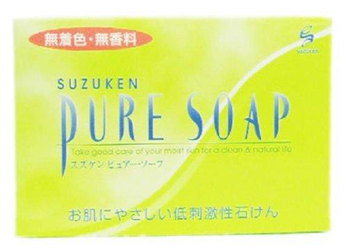 スズケン PURE SOAP 100g