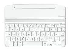 LOGICOOL ウルトラスリムマグネットクリップキーボードカバーfor iPad mini/Retinaシルバー iK0760SV