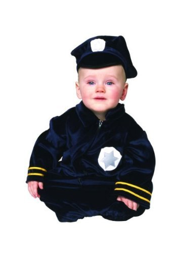 Little Police Bunting Newborn Costume